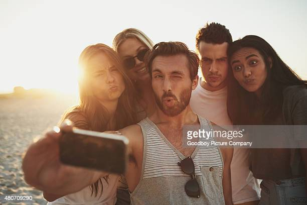 if you have crazy friends, you have everything - clique stock photos and pictures