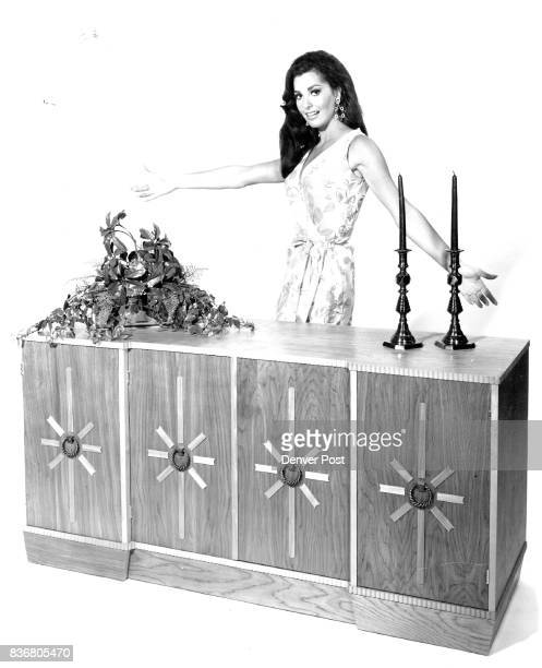 If you want to add distinction to your decor traditional or contemporary then build a handsome buffet The top of the one shown here with actress Edy...
