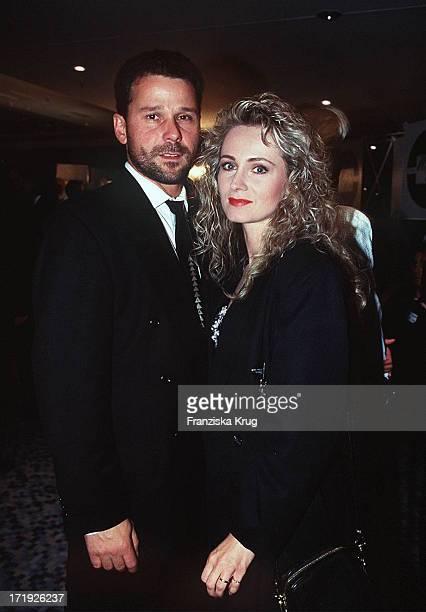 Nicole und Ehemann Winfried Seibert Bei Party Im Medienclub