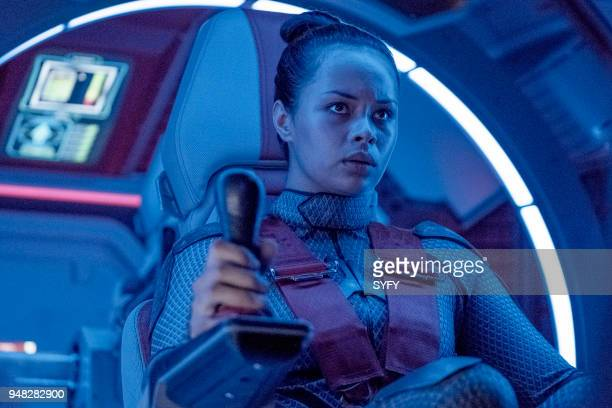 THE EXPANSE Iff Episode 302 Pictured Frankie Adams as Bobbie Draper