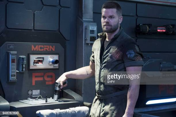 """Iff"""" Episode 302 -- Pictured: Wes Chatham as Amos Burton --"""