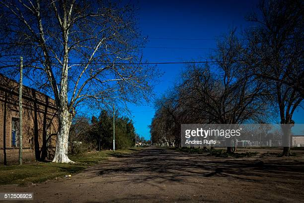 ifflinger neighborhood, city corral de bustos, arg - andres ruffo stock photos and pictures