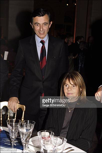 Ifrad Party At Palais Brogniart In Paris On October 12 2004 In Paris France Philippe Douste Blazy And His Friend Dominique Cantien