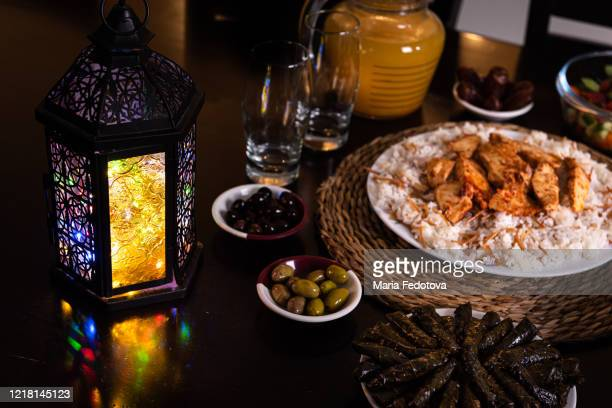 iftar for ramadan - iftar stock pictures, royalty-free photos & images