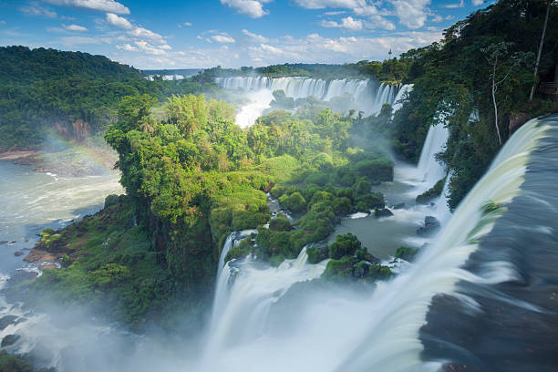 Igauzu Falls In Argentina. Wall Art