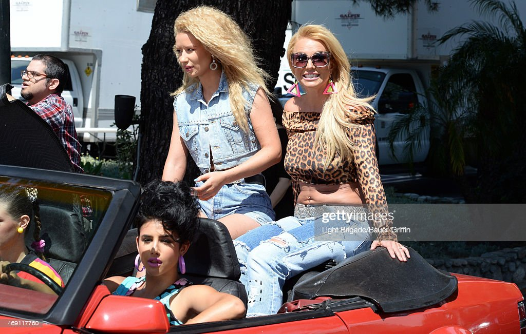 Celebrity Sightings In Los Angeles - April 09, 2015 : News Photo