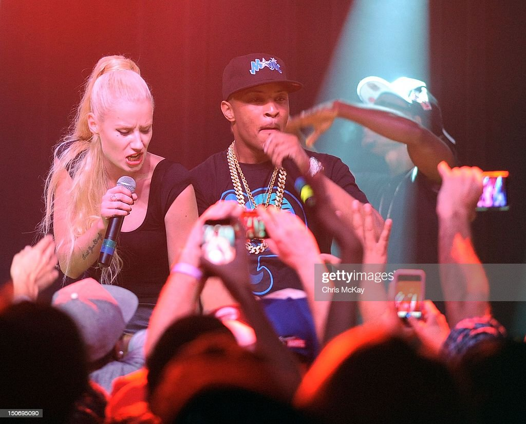 Iggy Azalea, T.I., B.O.B. And Gucci Mane Music Showcase : News Photo