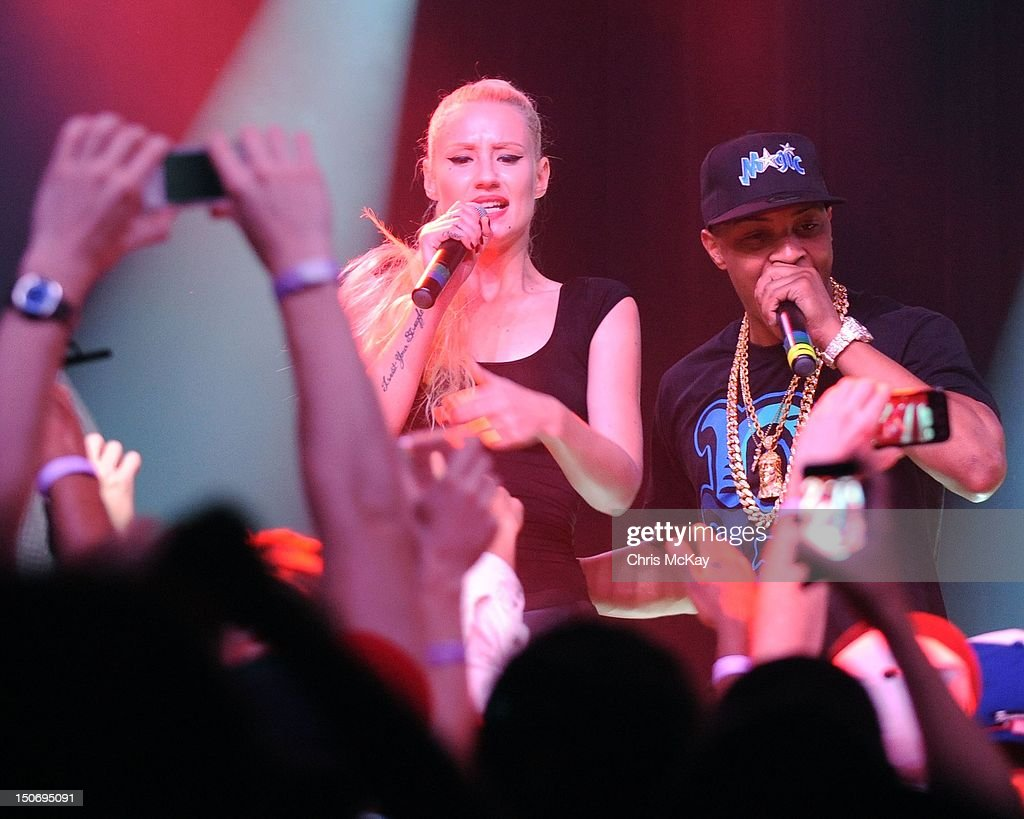 Iggy Azalea, T.I., B.O.B. And Gucci Mane Music Showcase : News Photo