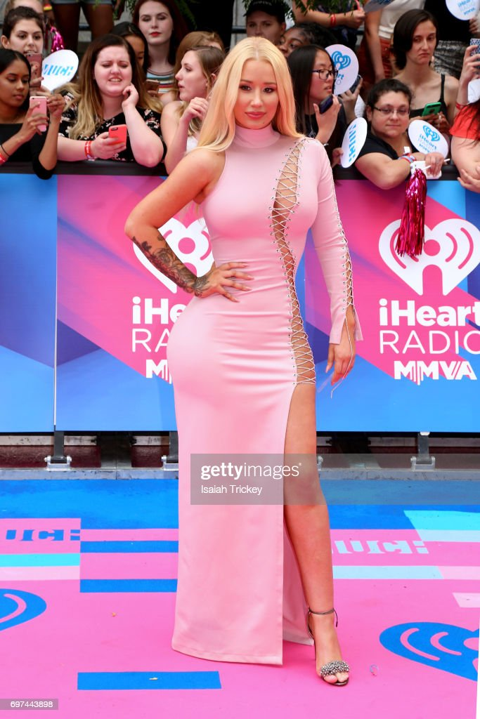 Iggy Azalea arrives at the 2017 iHeartRadio MuchMusic Video Awards on June 18, 2017 in Toronto, Canada.