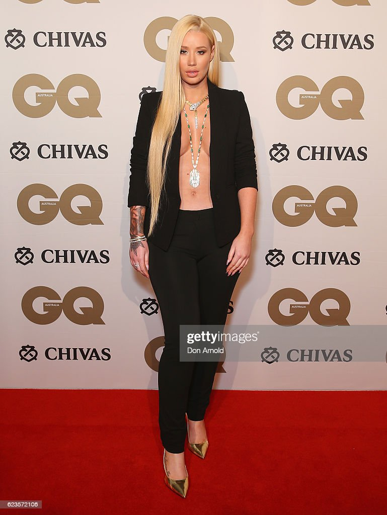Iggy Azalea arrives at the GQ Men of the Year Awards 2016 at The Ivy on November 16, 2016 in Sydney, Australia.