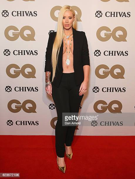 Iggy Azalea arrives at the GQ Men of the Year Awards 2016 at The Ivy on November 16 2016 in Sydney Australia