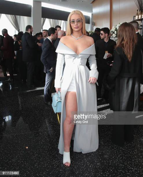 Iggy Azalea attends Roc Nation THE BRUNCH at One World Observatory on January 27 2018 in New York City