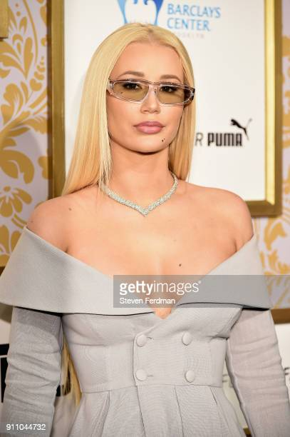 Iggy Azalea attends the 2018 Roc Nation Pre-Grammy Brunch at One World Trade Center on January 27, 2018 in New York City.