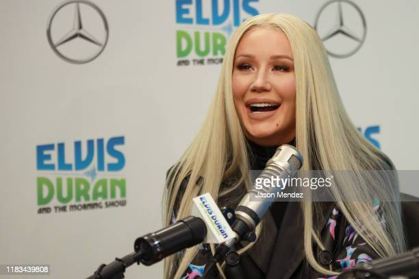"Iggy Azalea attends ""The Elvis Duran Z100 Morning Show"" at Z100 Studio on November 19, 2019 in New York City."