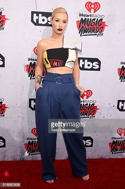 Iggy Azalea attends the iHeartRadio Music Awards at the Forum on April 3 2016 in Inglewood California