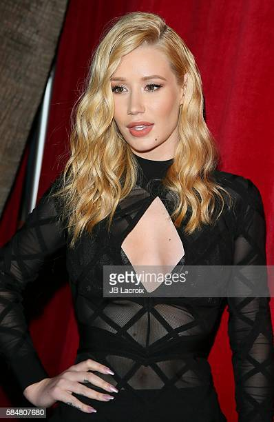 Iggy Azalea attends the Maxim Hot 100 party on July 30 2016 in Hollywood California