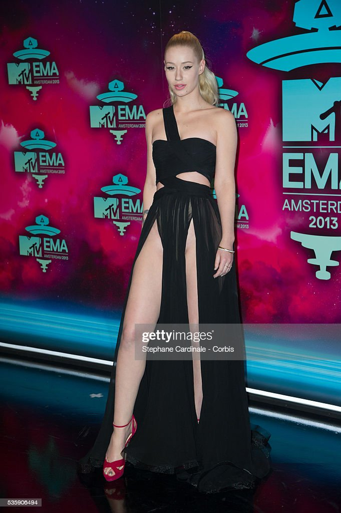 Iggy Azalea attends the MTV EMA's 2013 at the Ziggo Dome in Amsterdam, Netherlands.