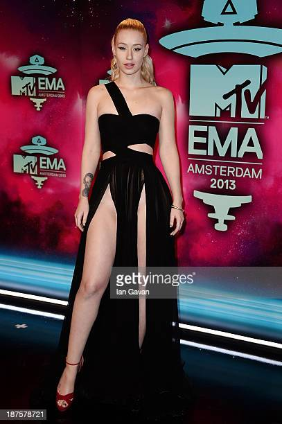 Iggy Azalea attends the MTV EMA's 2013 at the Ziggo Dome on November 10 2013 in Amsterdam Netherlands