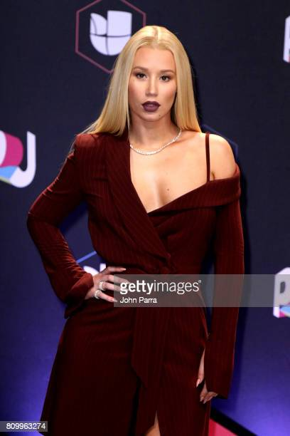 Iggy Azalea attends the Univision's 'Premios Juventud' 2017 Celebrates The Hottest Musical Artists And Young Latinos ChangeMakers at Watsco Center on...