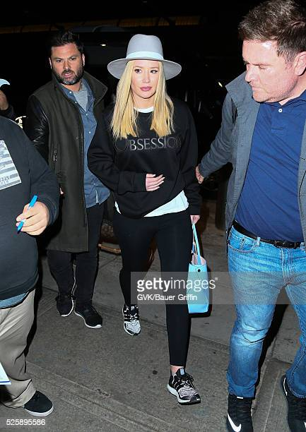 Iggy Azalea is seen at JFK airport on April 28 2016 in New York City