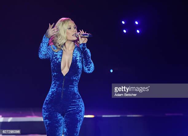 Iggy Azalea performs at Mystic Lake Casino Hotel on December 2 2016 in Prior Lake Minnesota