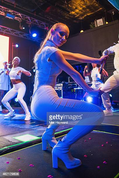 Iggy Azalea performs on stage at Park City Live during the 2015 Sundance Film Festival at Park City Live on January 24 2015 in Park City Utah