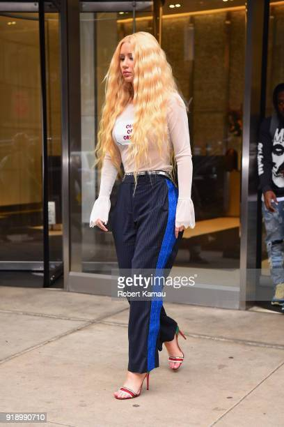 Iggy Azelea seen out and about in Manhattan on February 15 2018 in New York City
