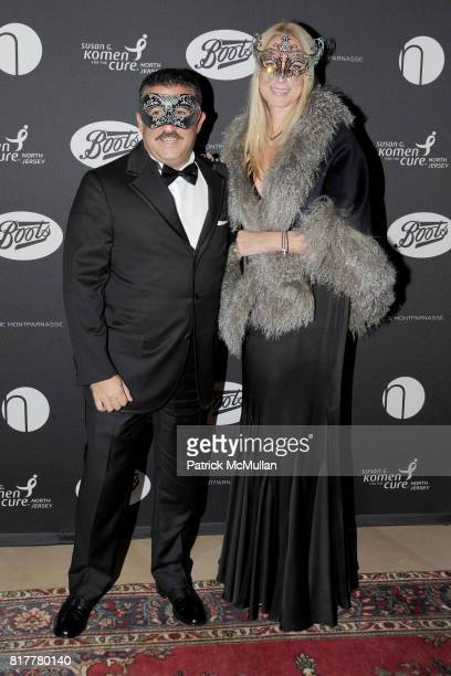 Iggy Giuffre and Iris Giuffre attend VIP MASKED BALL for Susan G Komen Headlined by Sir Richard Branson Katie Couric Cornelia Guest HM Queen Noor and...