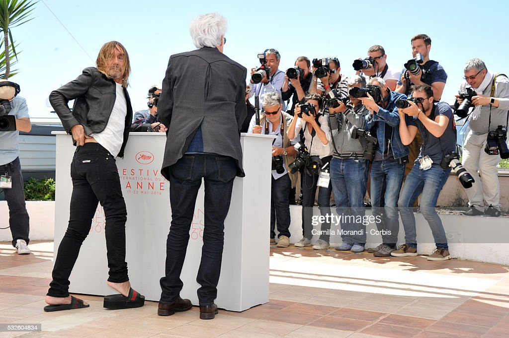 """Gimme Danger"" Photocall- The 69th Annual Cannes Film Festival : News Photo"