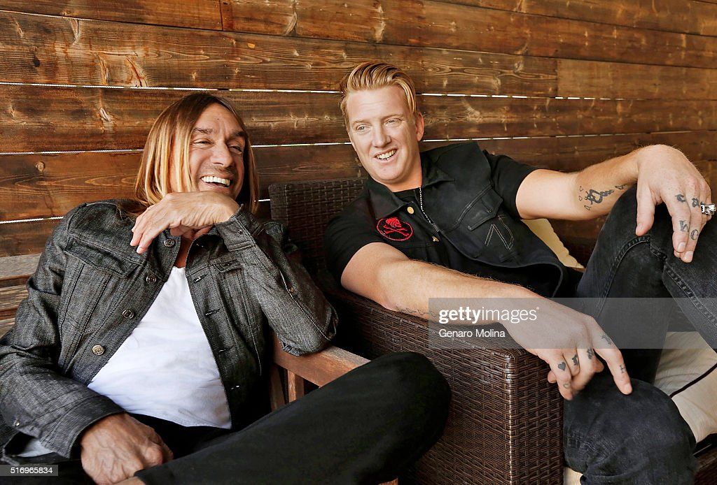 Iggy Pop and Josh Homme, Los Angeles Times, March 20, 2016