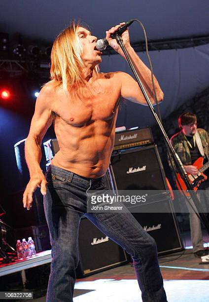 Iggy Pop and The Stooges during 21st Annual SXSW Film and Music Festival The Stooges at Stubbs at Stubb's in Austin Texas United States