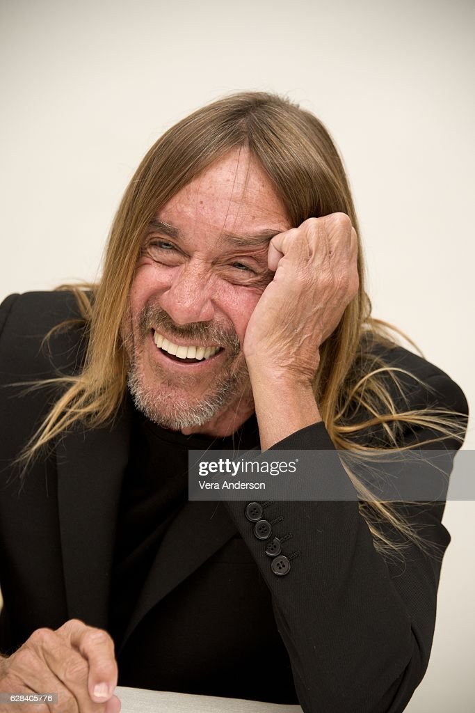 Iggy Pop at the 'Gold' Press Conference at the Four Seasons Hotel on December 5, 2016 in Beverly Hills, California.