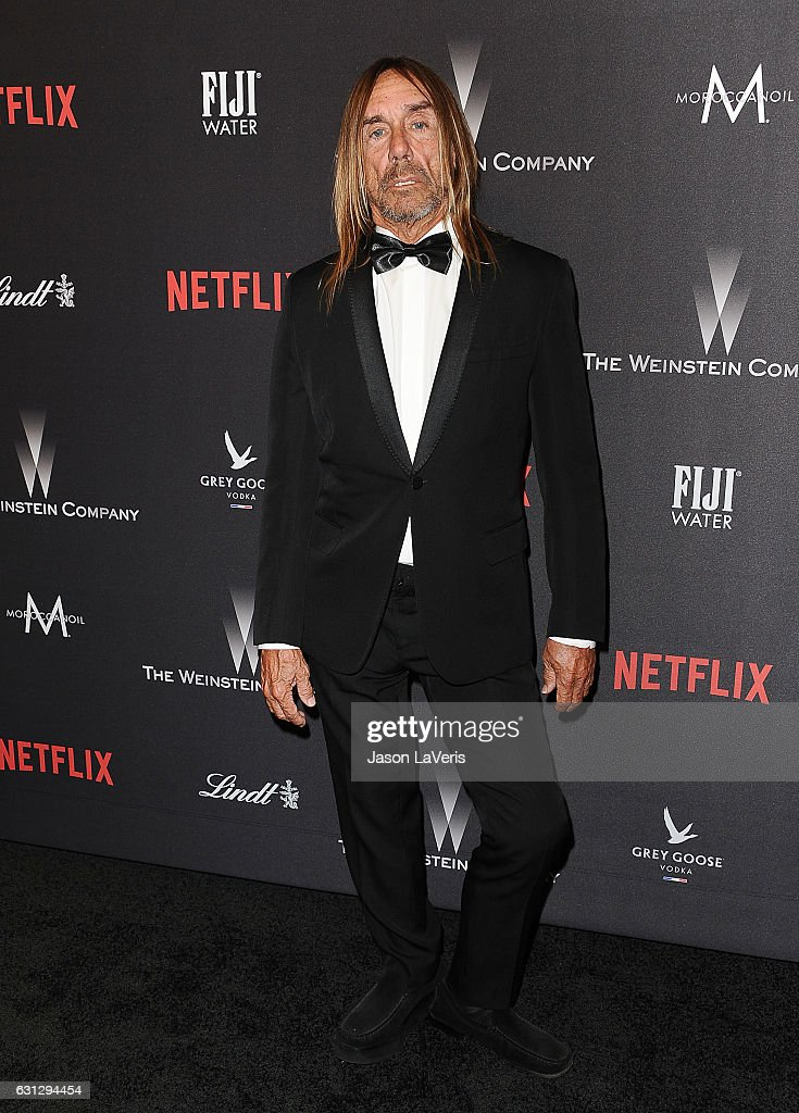 Iggy Pop attends the 2017 Weinstein Company and Netflix Golden Globes after party on January 8, 2017 in Los Angeles, California.
