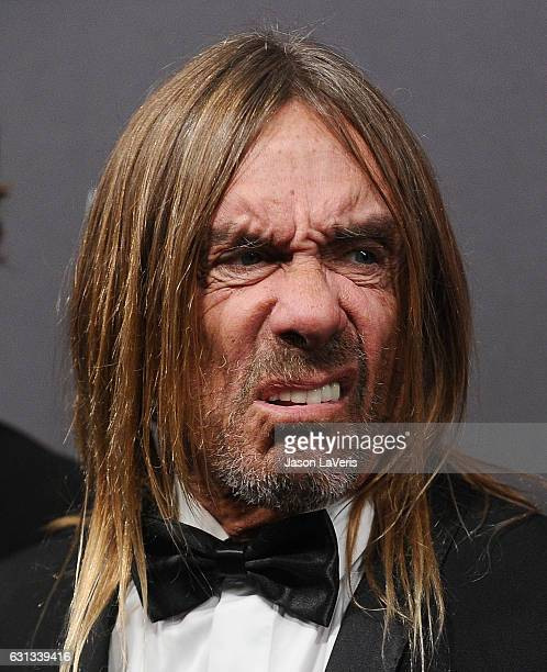 Iggy Pop attends the 2017 Weinstein Company and Netflix Golden Globes after party on January 8 2017 in Los Angeles California