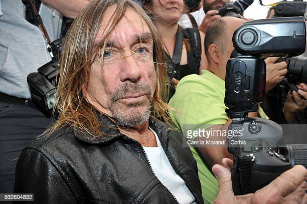 Iggy Pop attends the 'Gimme Danger' Photocall at the annual 69th Cannes Film Festival at Palais des Festivals on May 19 2016 in Cannes France