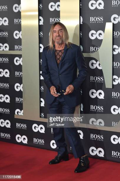 Iggy Pop attends the GQ Men Of The Year Awards 2019 at Tate Modern on September 03 2019 in London England