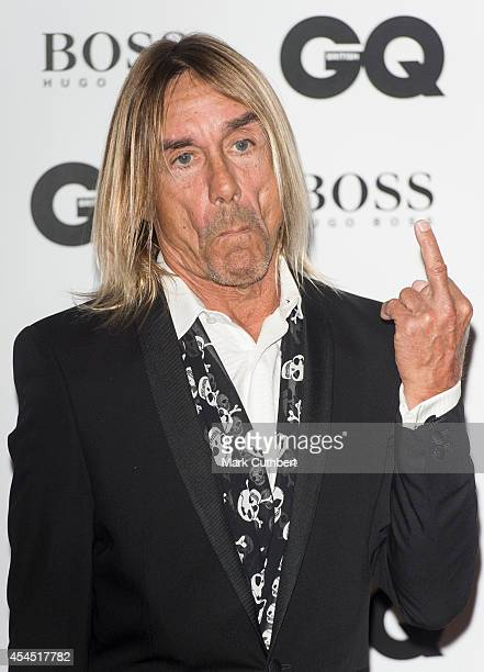 Iggy Pop attends the GQ Men of the Year awards at The Royal Opera House on September 2 2014 in London England