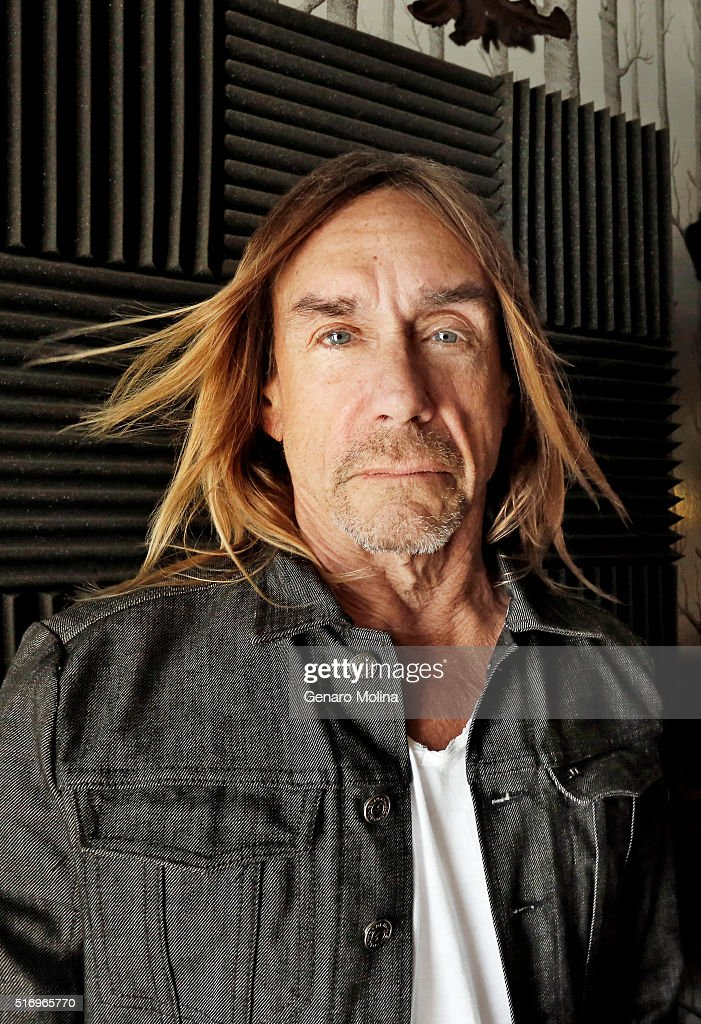 Iggy Pop is photographed for Los Angeles Times on March 2, 2016 in Los Angeles, California. PUBLISHED IMAGE.