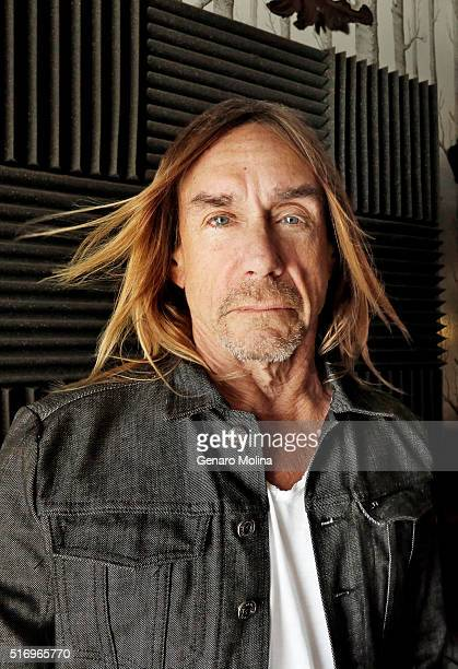 Iggy Pop is photographed for Los Angeles Times on March 2 2016 in Los Angeles California PUBLISHED IMAGE CREDIT MUST READ Genaro Molina/Los Angeles...
