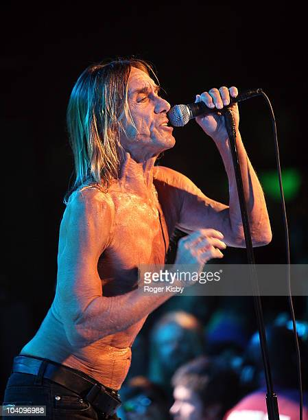 Iggy Pop of Iggy Pop and The Stooges performs onstage at All Tomorrow's Parties New York Festival 2010 Day 1 at Kutshers Country Club on September 3,...