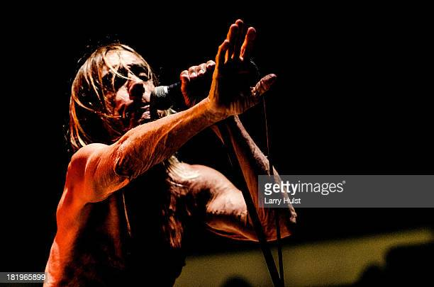 Iggy Pop performing at May Farms in Byers Colorado on September 21 2013