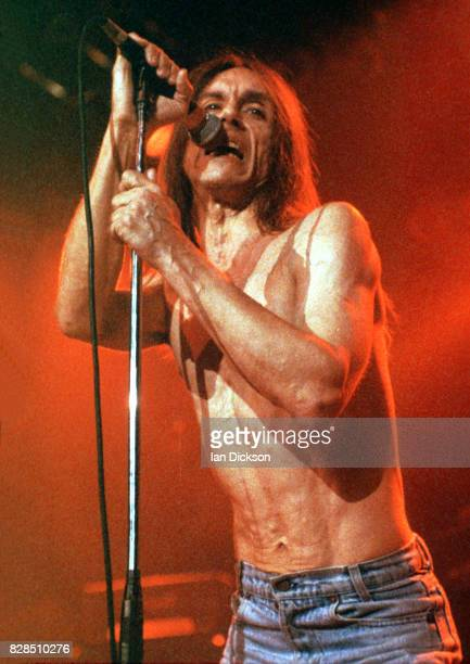 Iggy Pop performing on stage at The Forum Kentish Town London' 18 August 1993