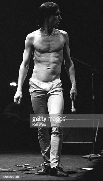 Iggy Pop performs at Park West Chicago Illinois November 17 1979