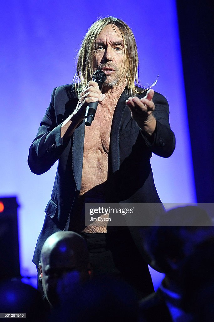 Iggy Pop Performs At The Royal Albert Hall