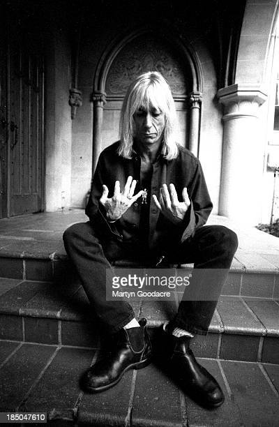Iggy Pop, portrait at Chateau Marmont Hotel in Los Angeles, United States, 1996.