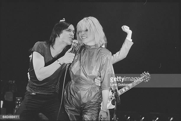 Iggy Pop Singing with Debbie Harry