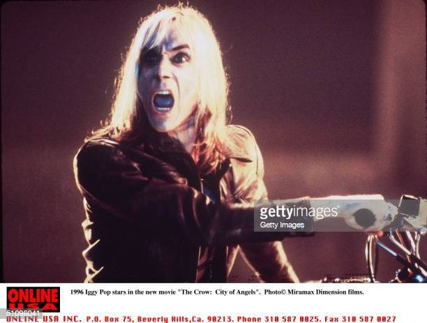 "Iggy Pop Stars In The New Movie ""The Crow: City Of Angels"""