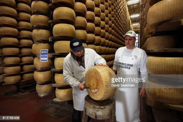 Igino Morini a representative of the Consorzio ParmigianoReggiano the statesanctioned consortium responsible for ensuring that ParmigianoReggiano...