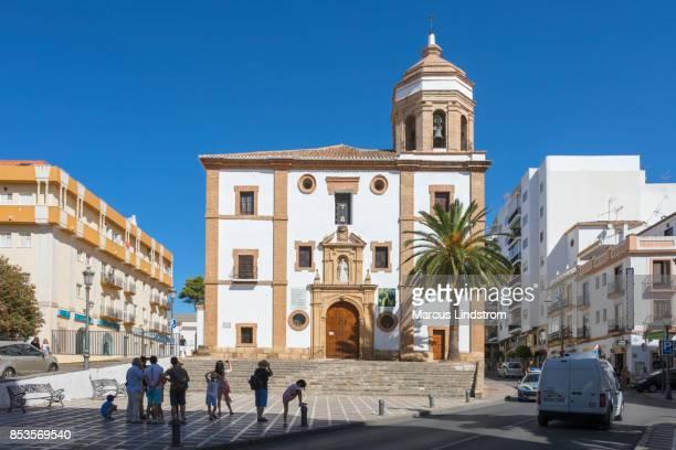 iglesia de la merced, ronda - ronda stock pictures, royalty-free photos & images