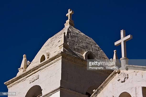 iglesia de maca - oskar stock pictures, royalty-free photos & images